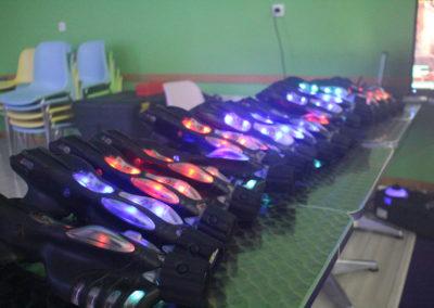 Special Kids Carré Sénart - de vrais pistolets laser