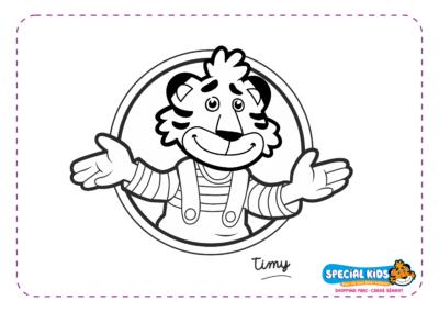 Special Kids - Timy en médaillon