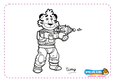 Special Kids - Timy fait du Laser Game