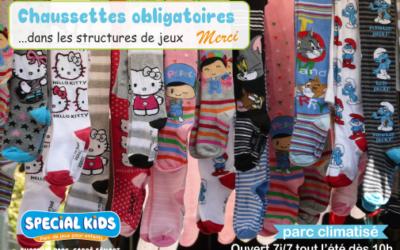 Avant de venir, n'oubliez pas vos plus belles chaussettes!