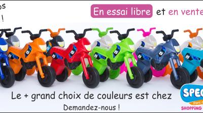 Légère, maniable, super résistante ! mini-moto Easy GO Games, le porteur idéal