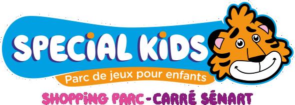 Logo SPECIAL KIDS + Timy à droite + CS