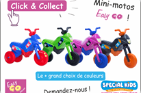 MINI MOTO EasyGo – CLICK and COLLECT – 29.90 €