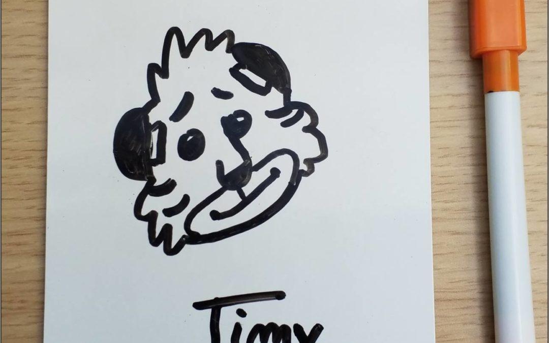 Merci à Olivia pour ce joli dessin de Timy !