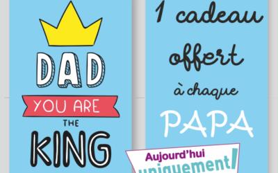 Parce que nous aimons tous nos papas… …et qu'ils aiment bien aussi être chou