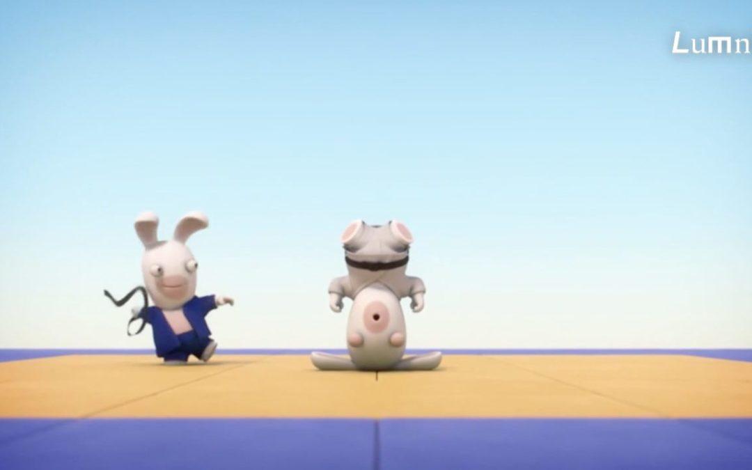 Regarder Le judo expliqué par les Lapins Crétins