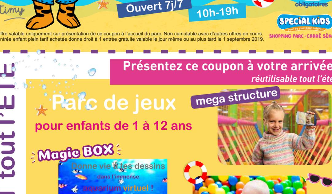 SPECIAL KIDS Carré Sénart – 1 entrée gratuite 2019.pdf
